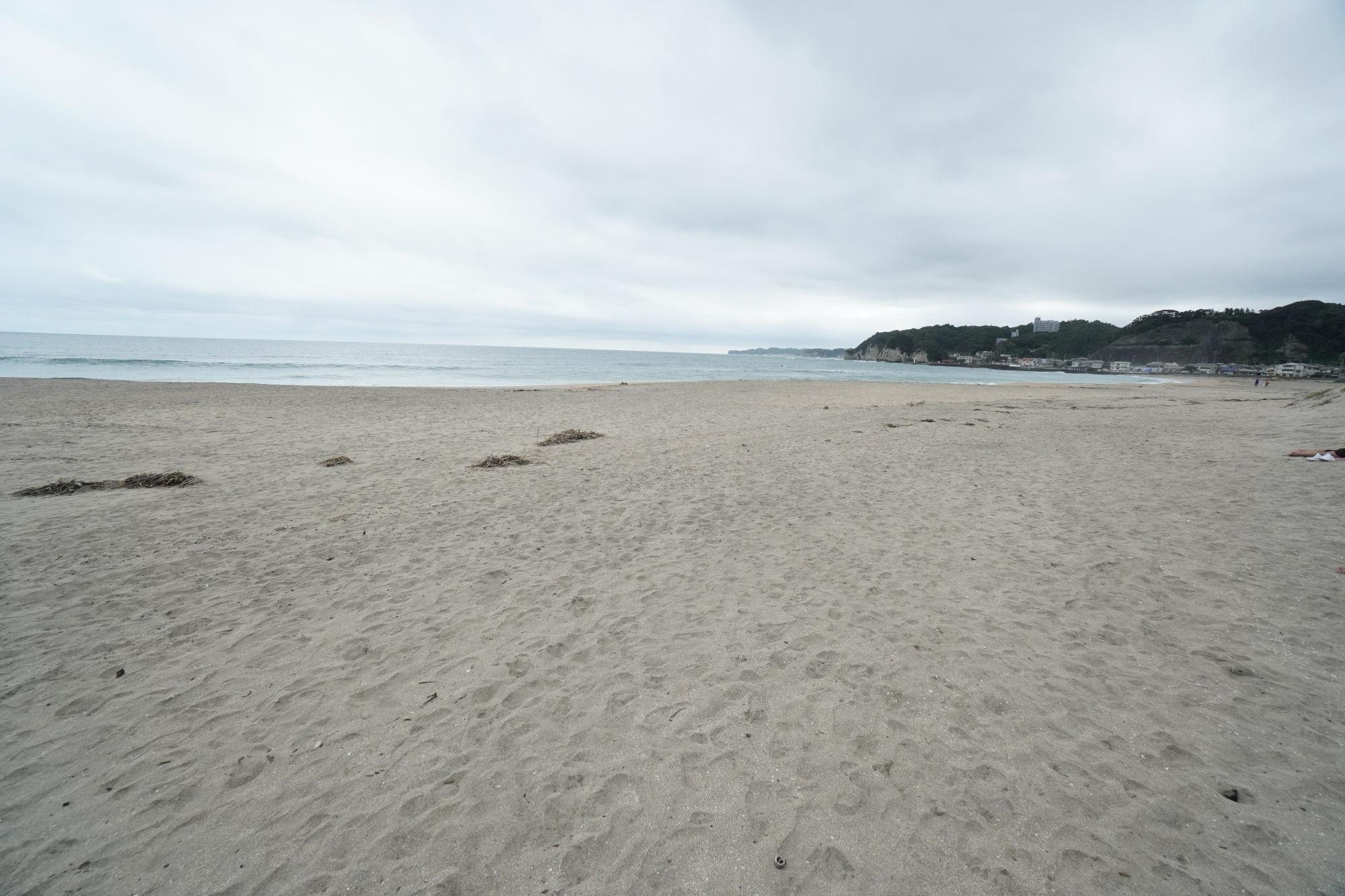 御宿のビーチ
