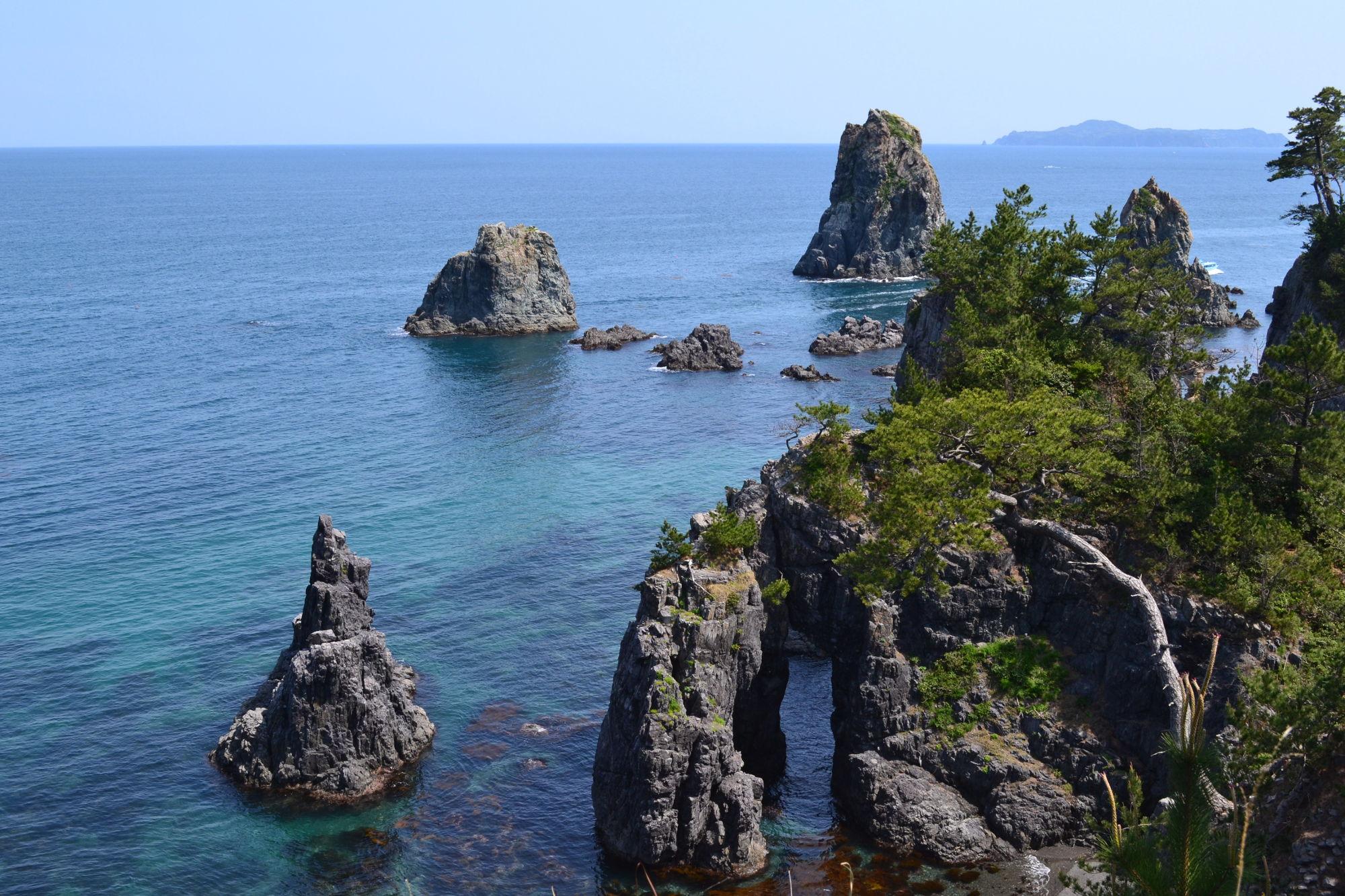 青海島(オオミジマ)