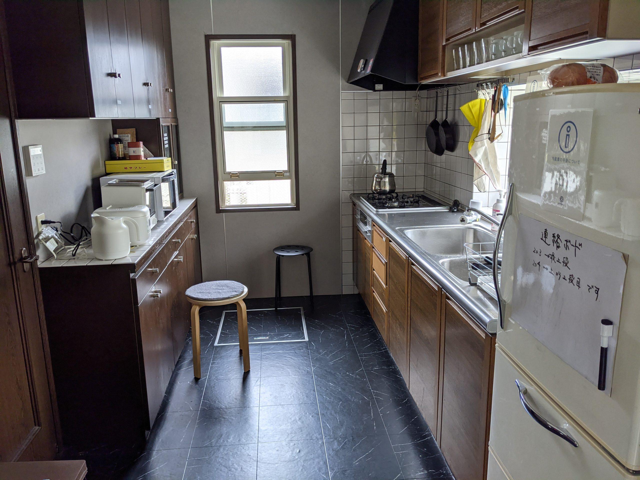 鎌倉A邸の台所