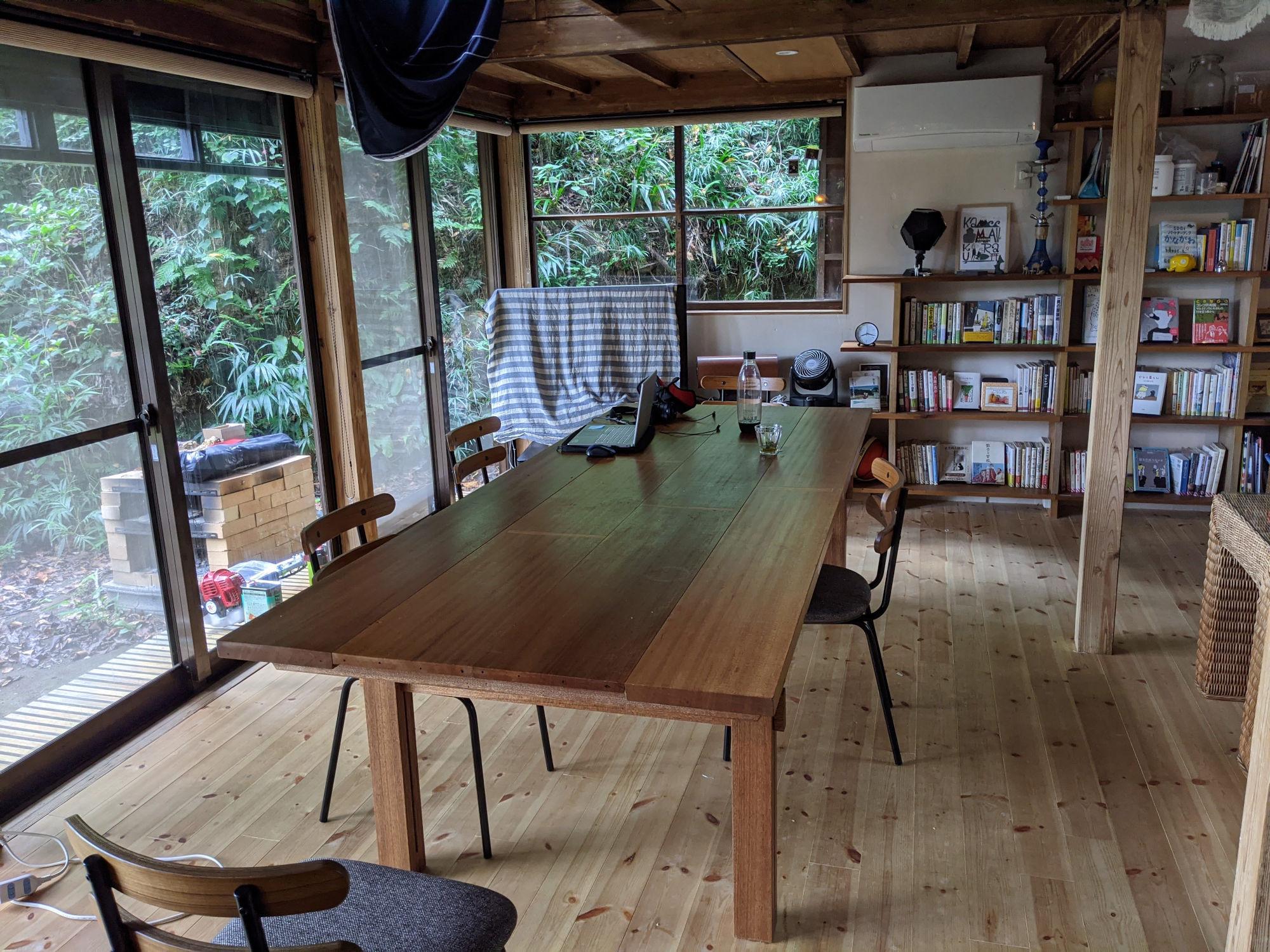 ADDress鎌倉B邸の共有スペース