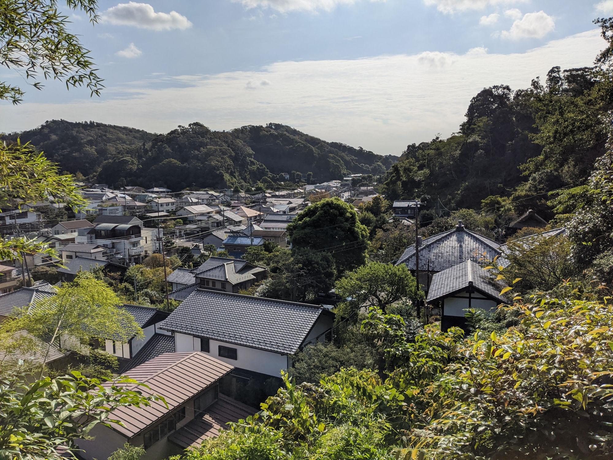 ADDress鎌倉B邸からの眺め