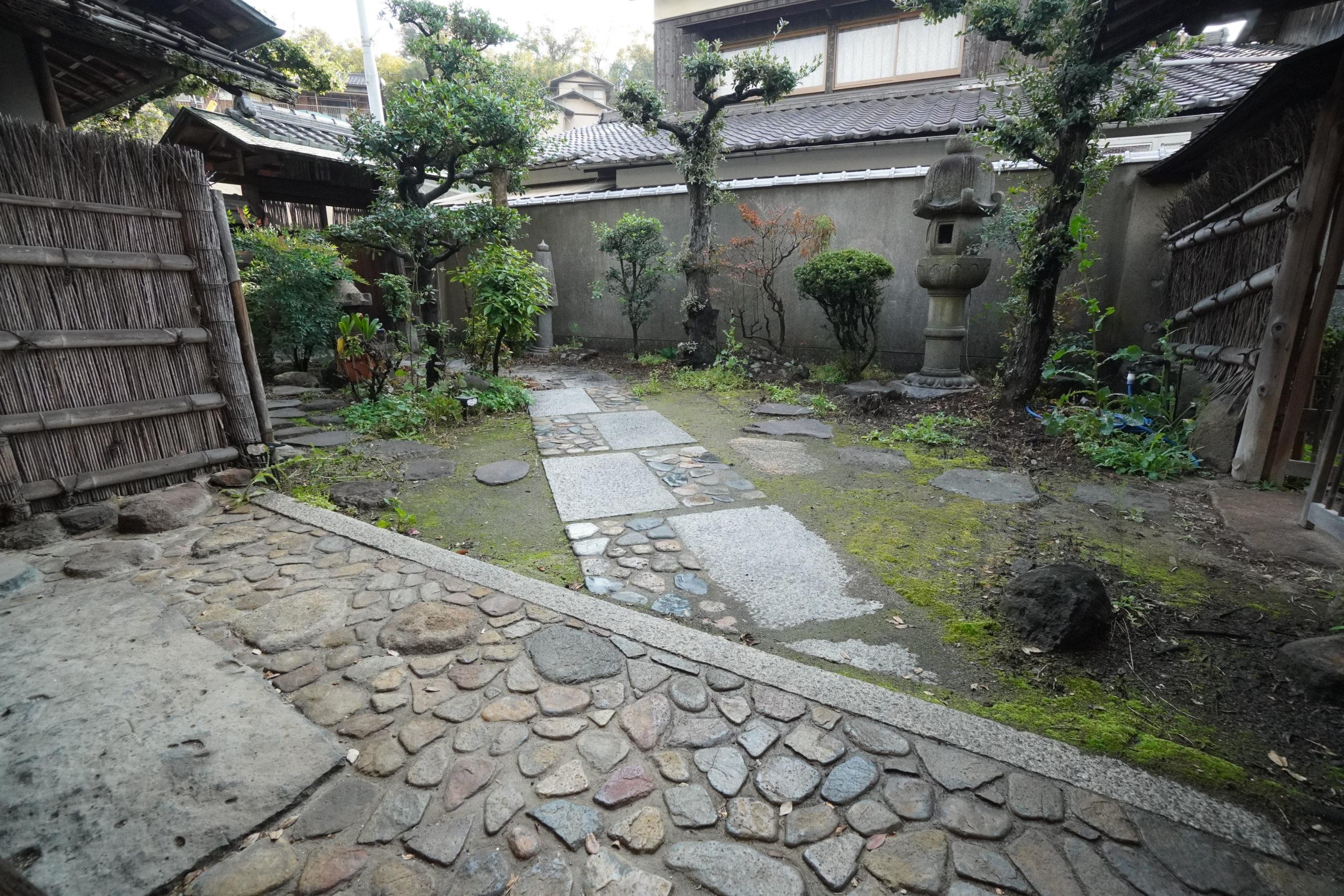 倉敷児島A邸の庭