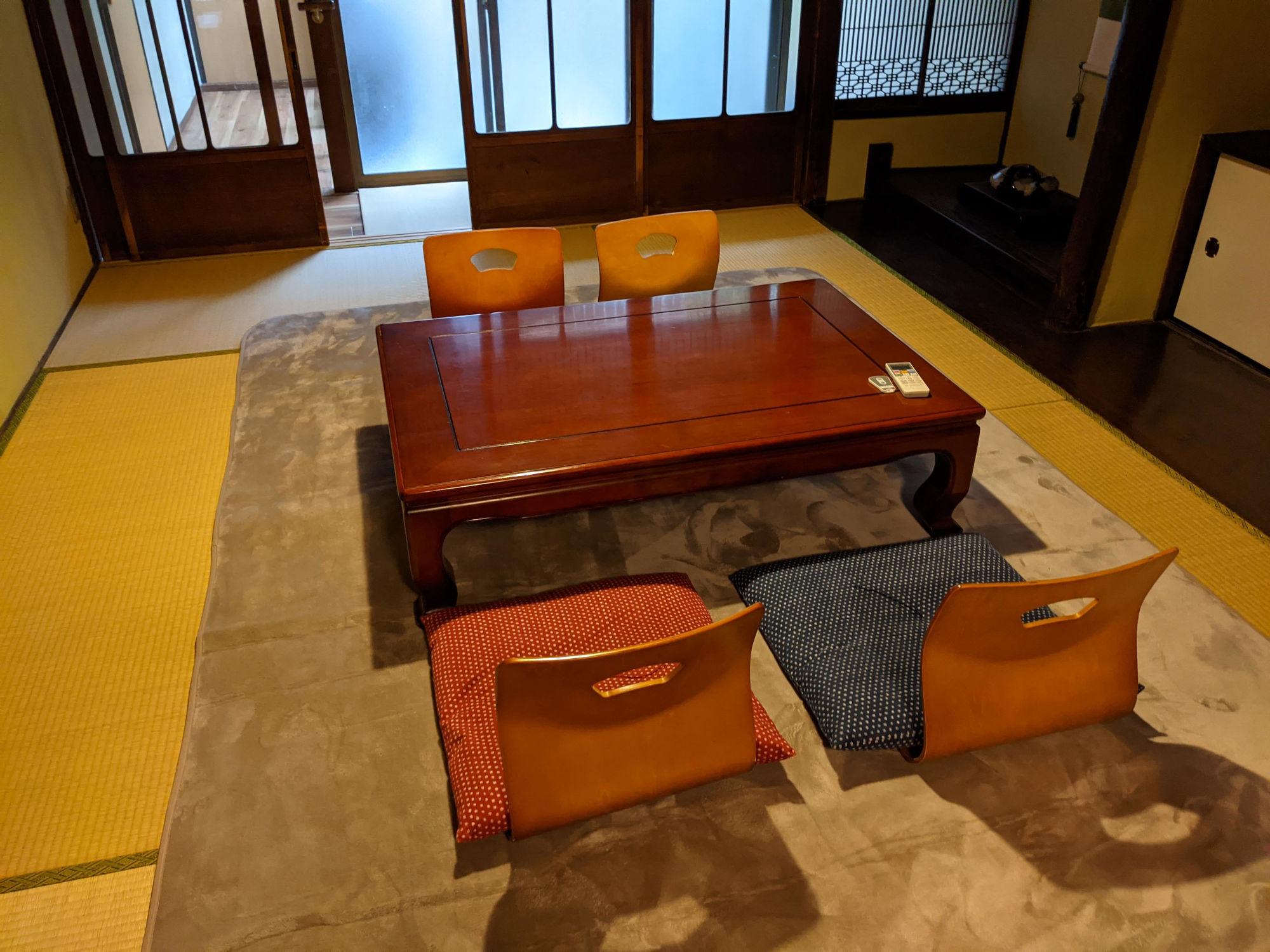 京都九条A邸の共有スペース