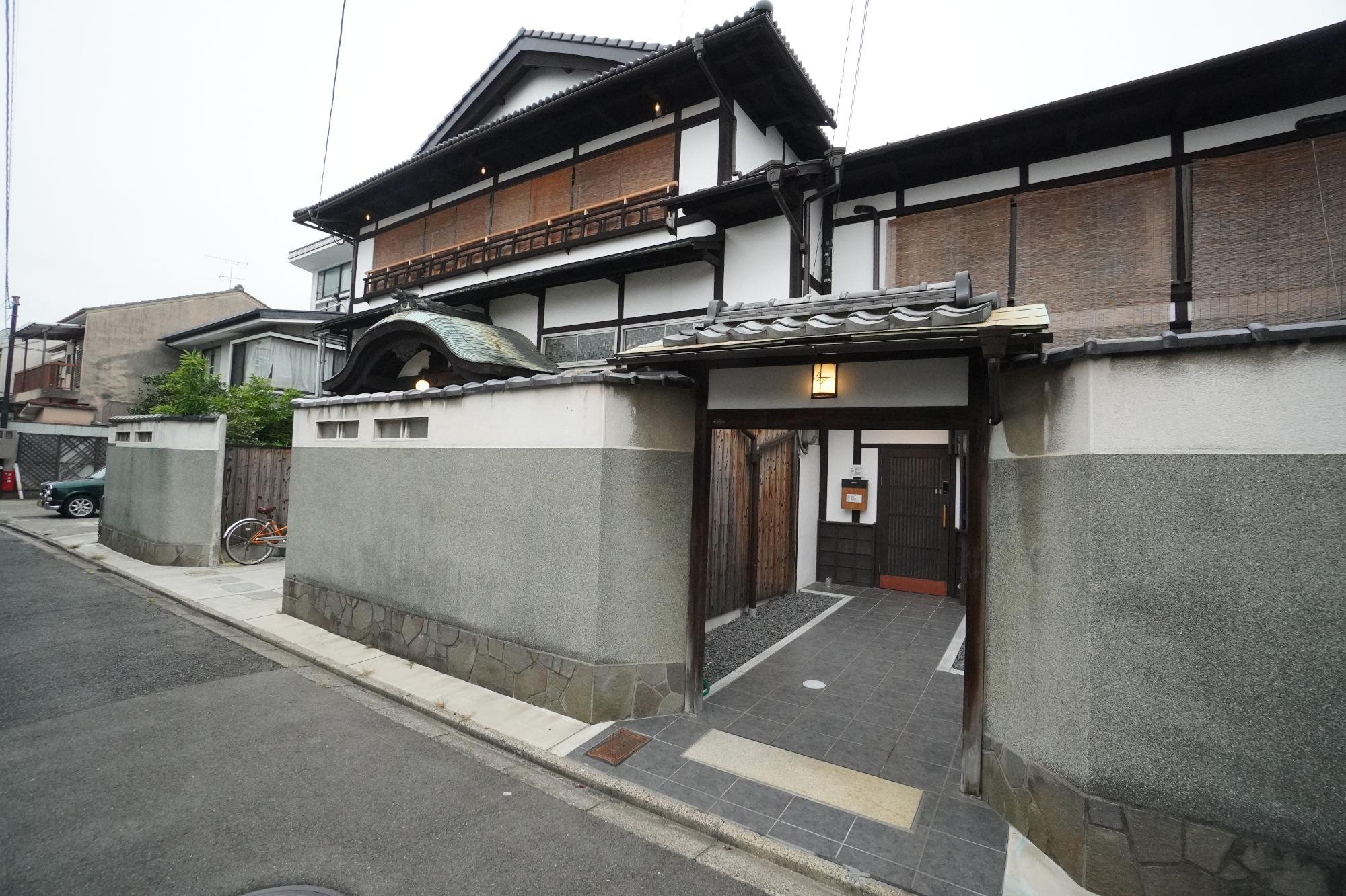 京都九条A邸の外観