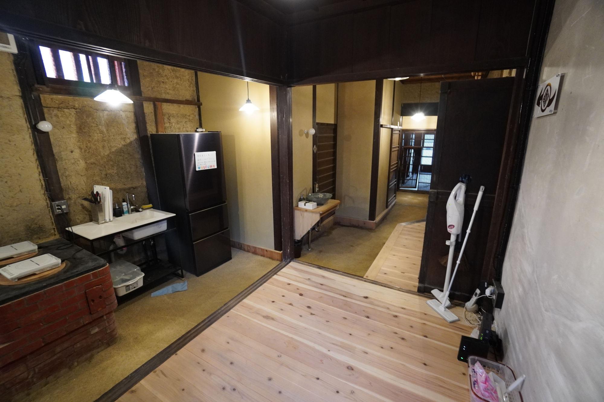 丹波篠山A邸の内観