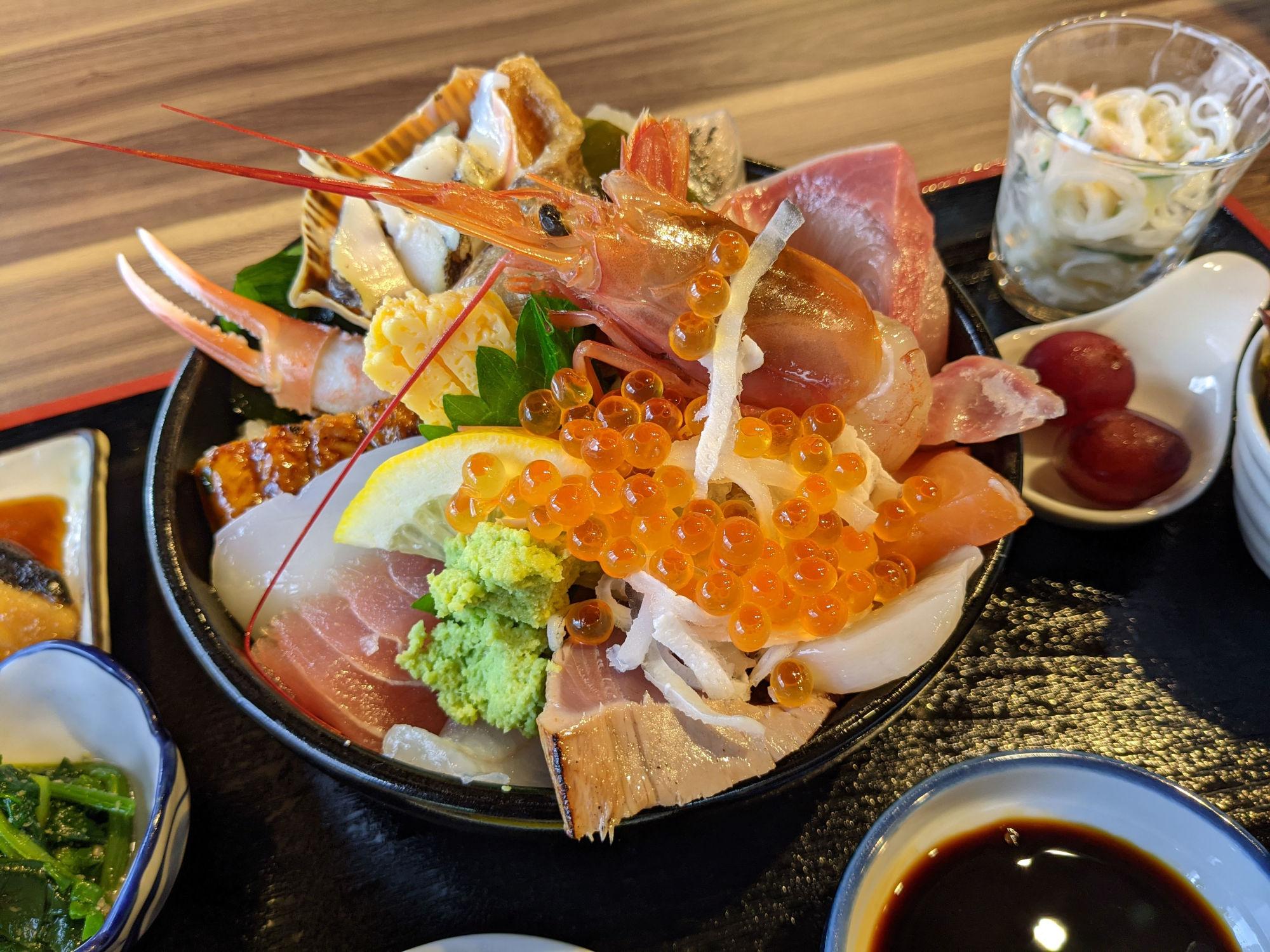 ドリカフェの海鮮丼