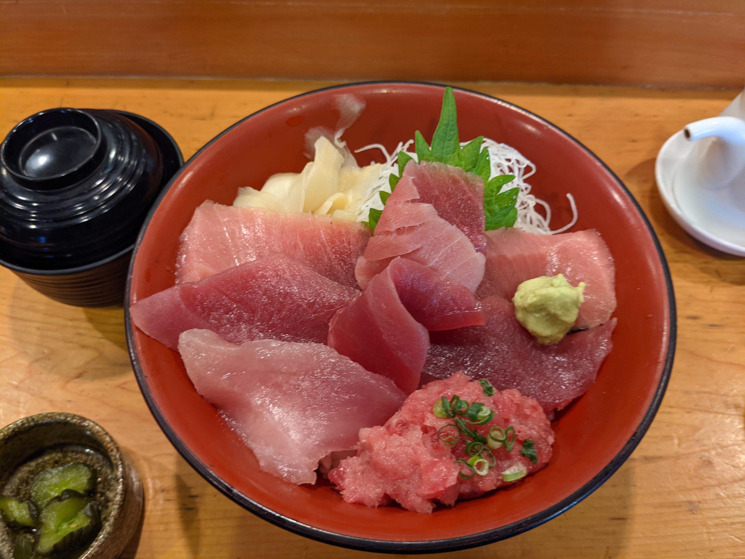 三崎 鮮味楽のマグロ丼