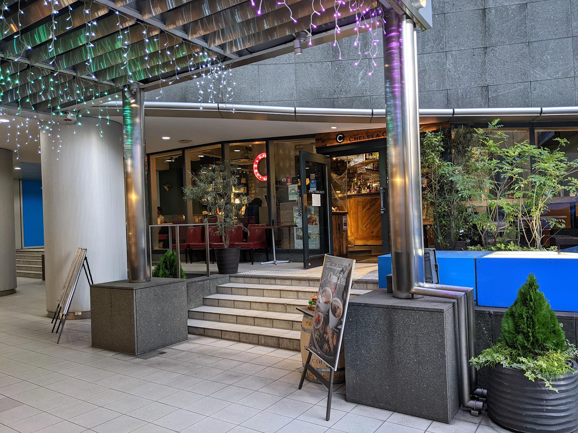 渋谷「CHELSEA CAFE」の入り口