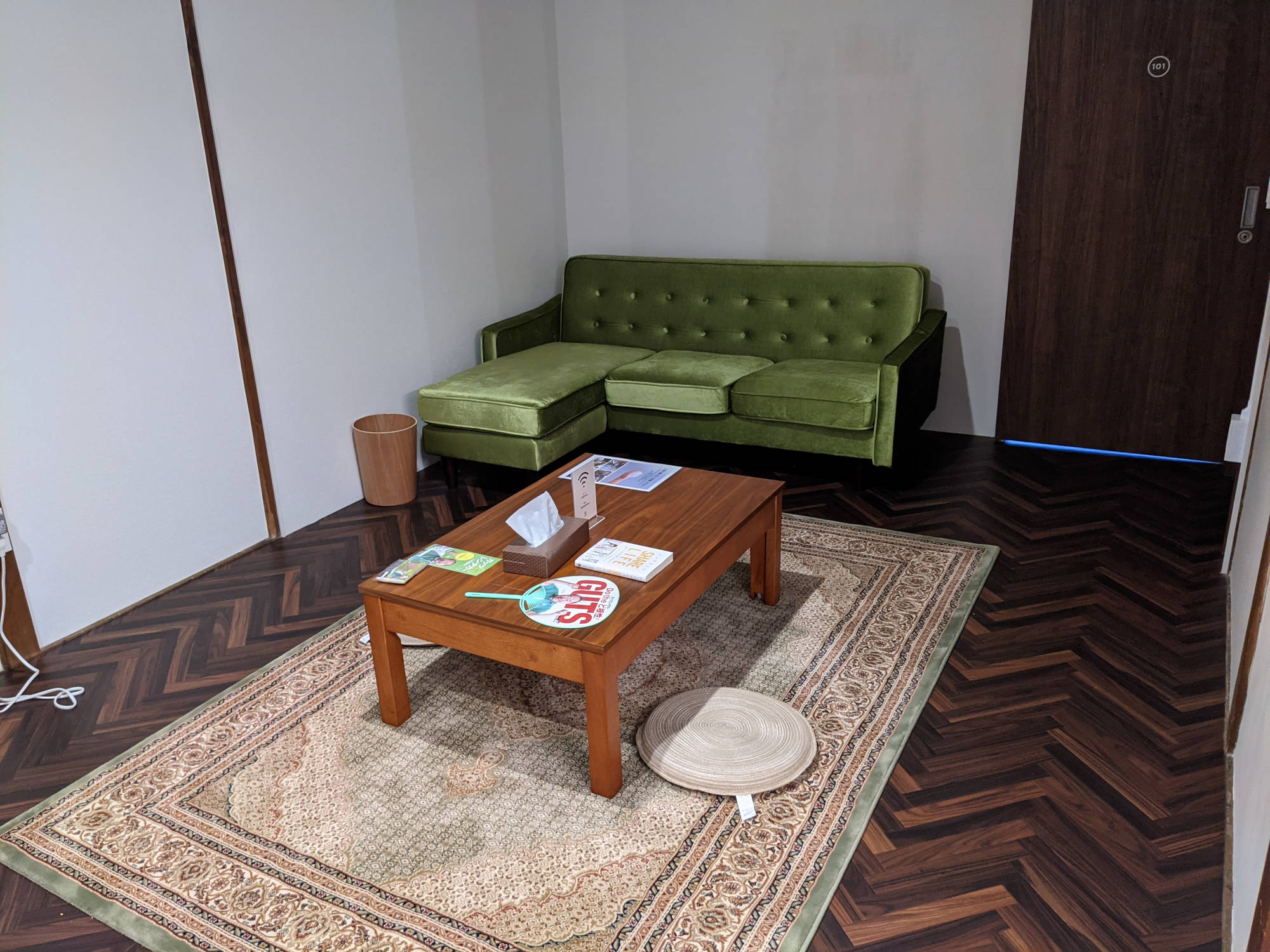 岡山奉還町B邸の共有スペース