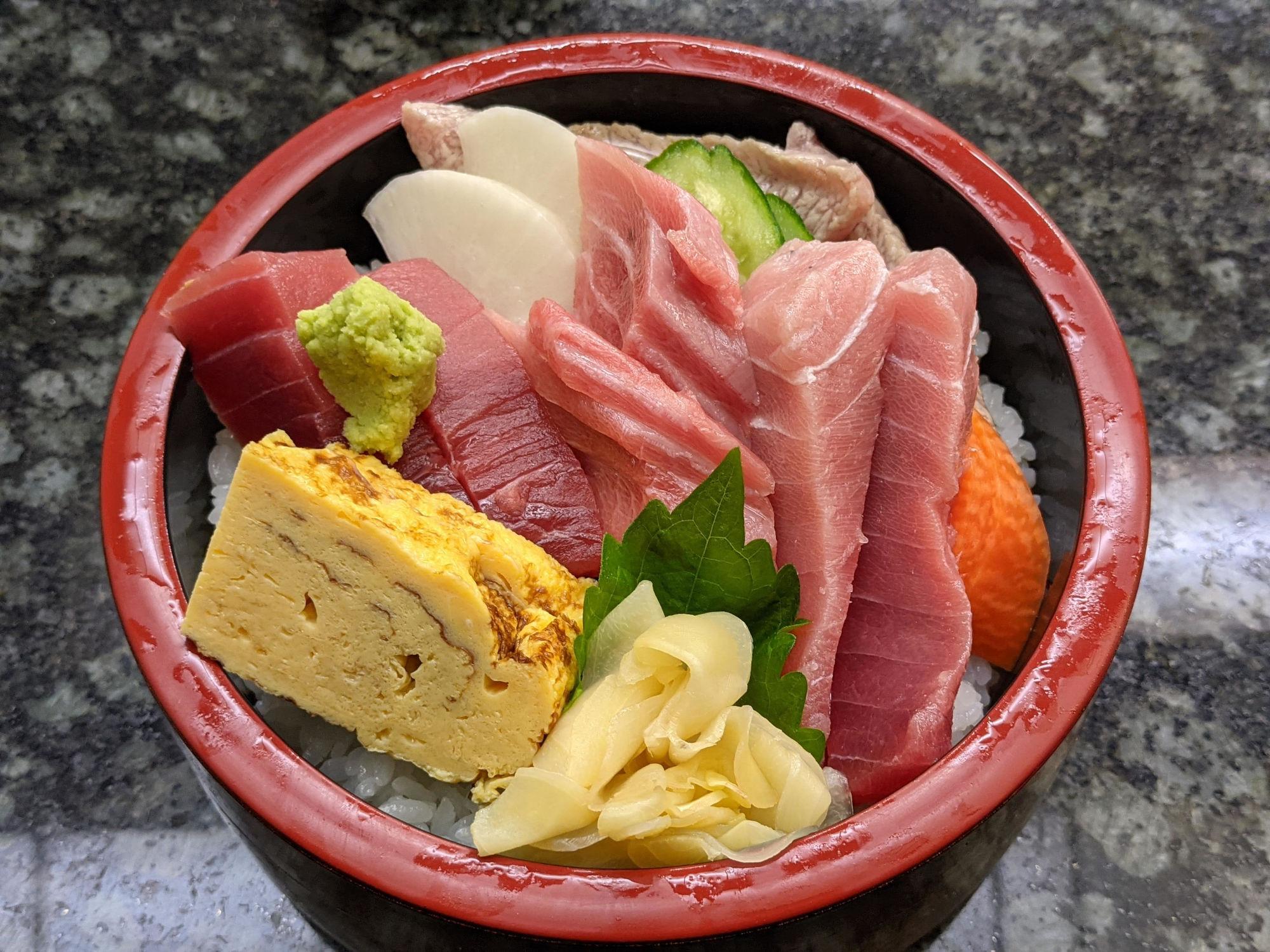 魚音の三浦丼