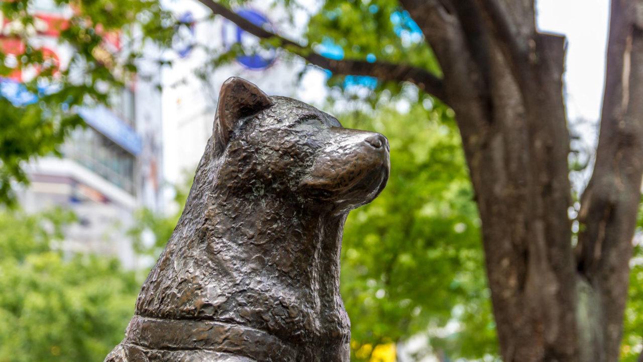 渋谷 忠犬ハチ公像