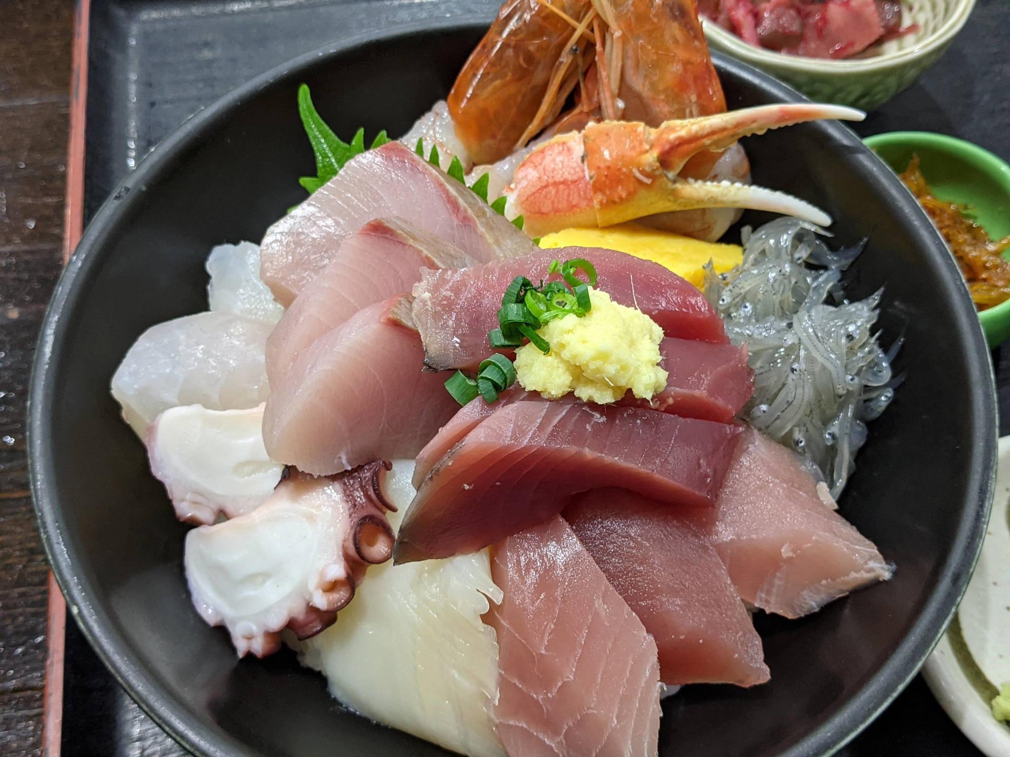 スペシャル海鮮丼