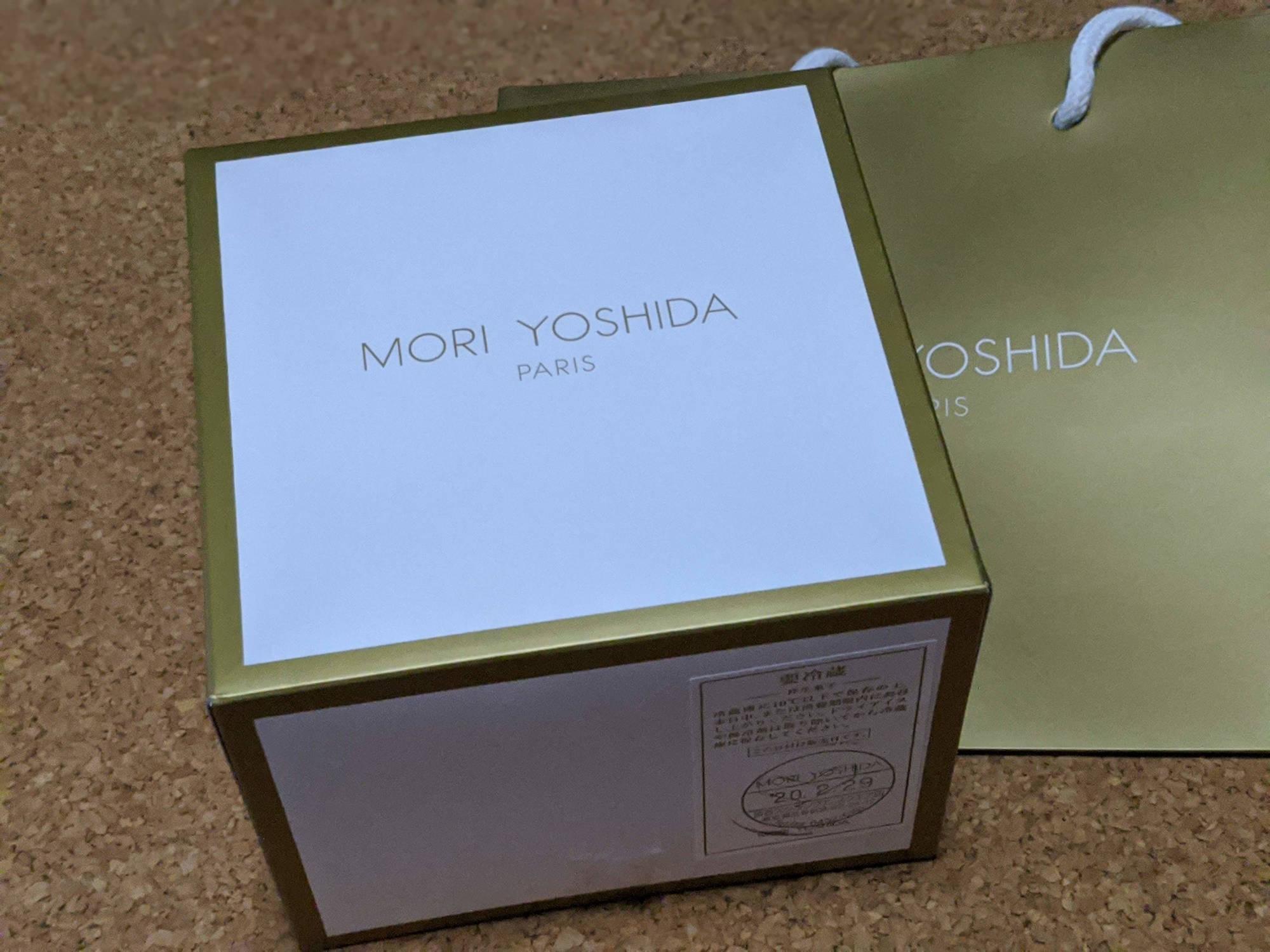 モリ・ヨシダ・パリの箱