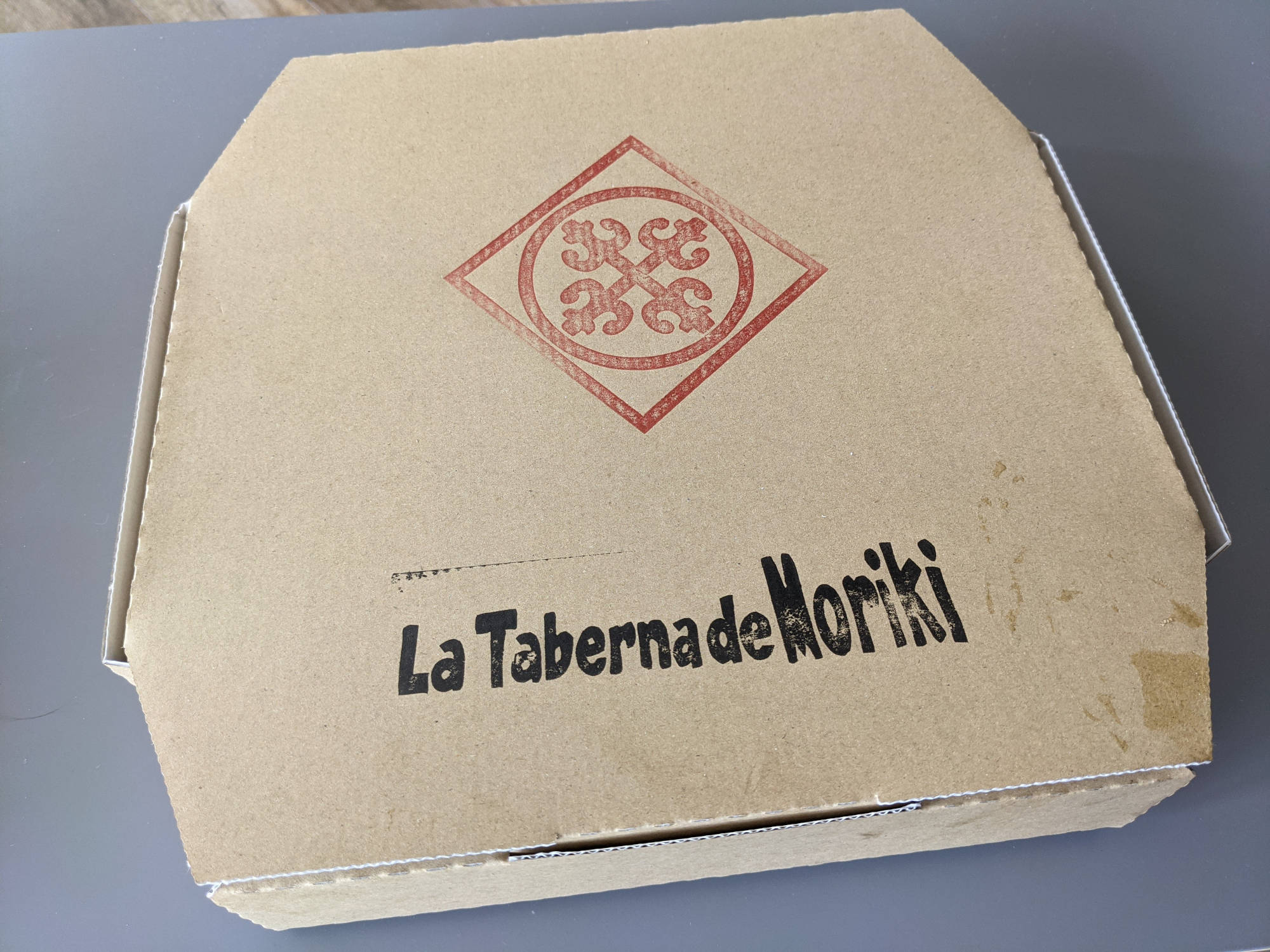 ラ タベルナ デ モリキで購入したマルゲリータ