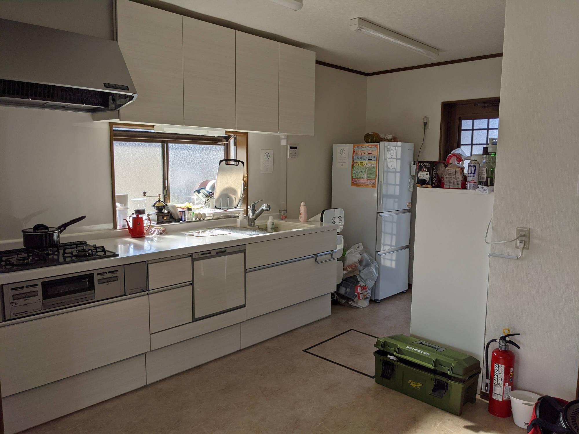 大洗A邸のキッチン