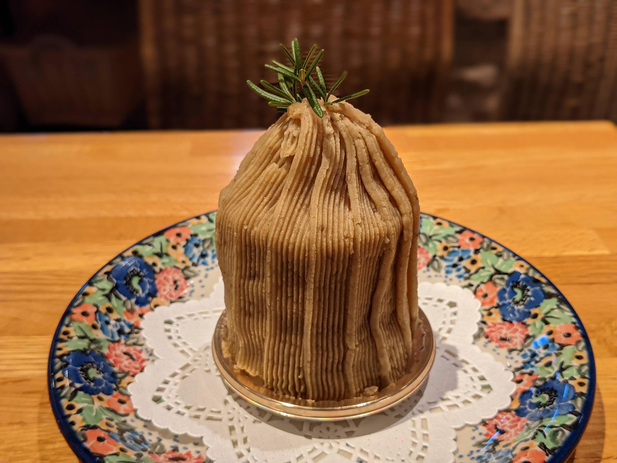 マリー様のモンブランケーキ