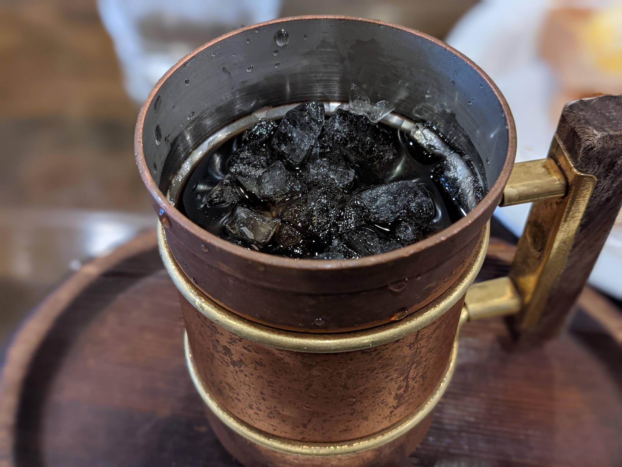 シャルマンのアイスコーヒー
