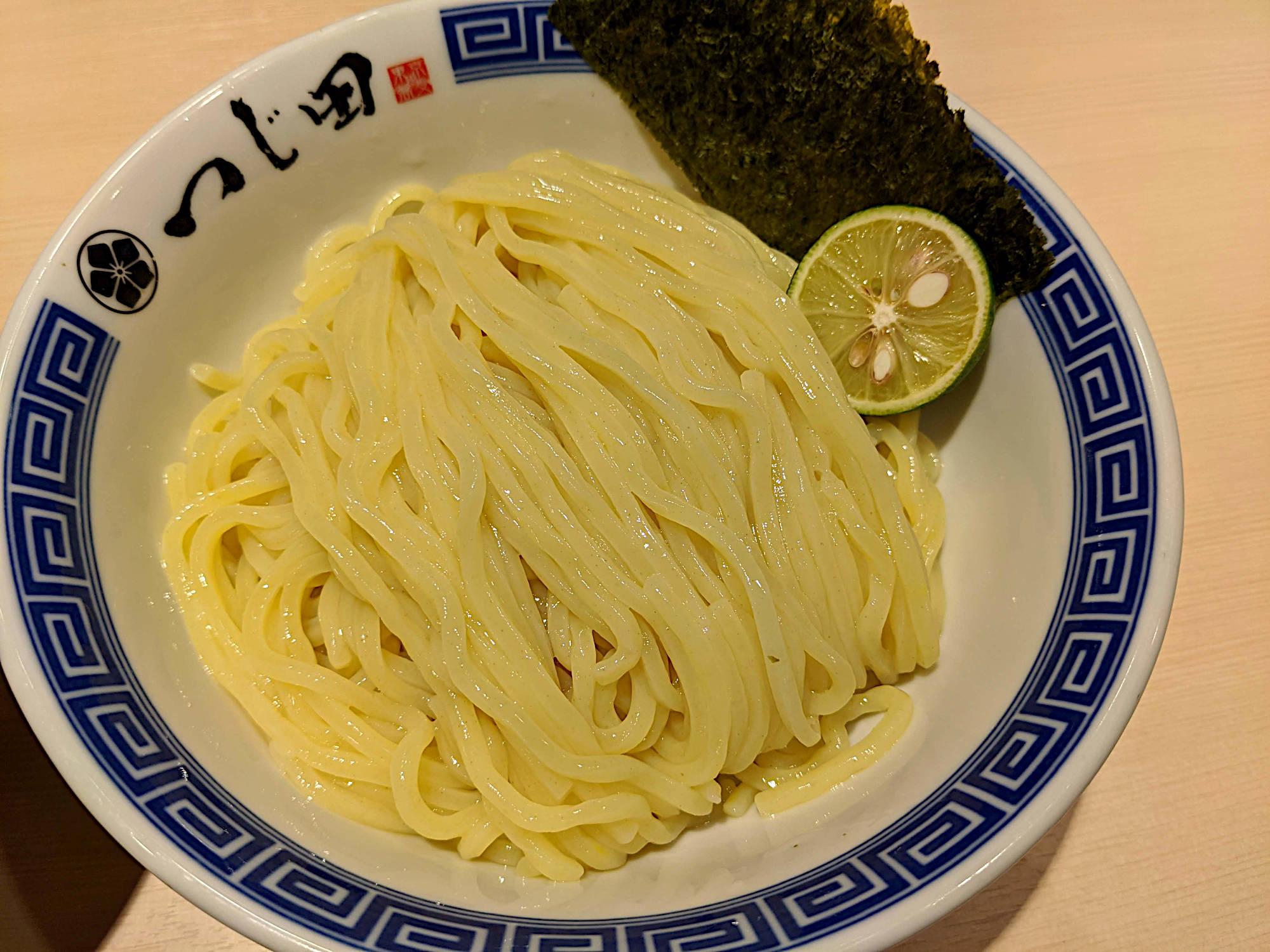 つじ田のつけ麺 麺のみ