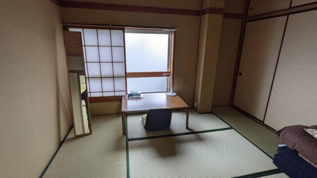 富士吉田A邸の個室