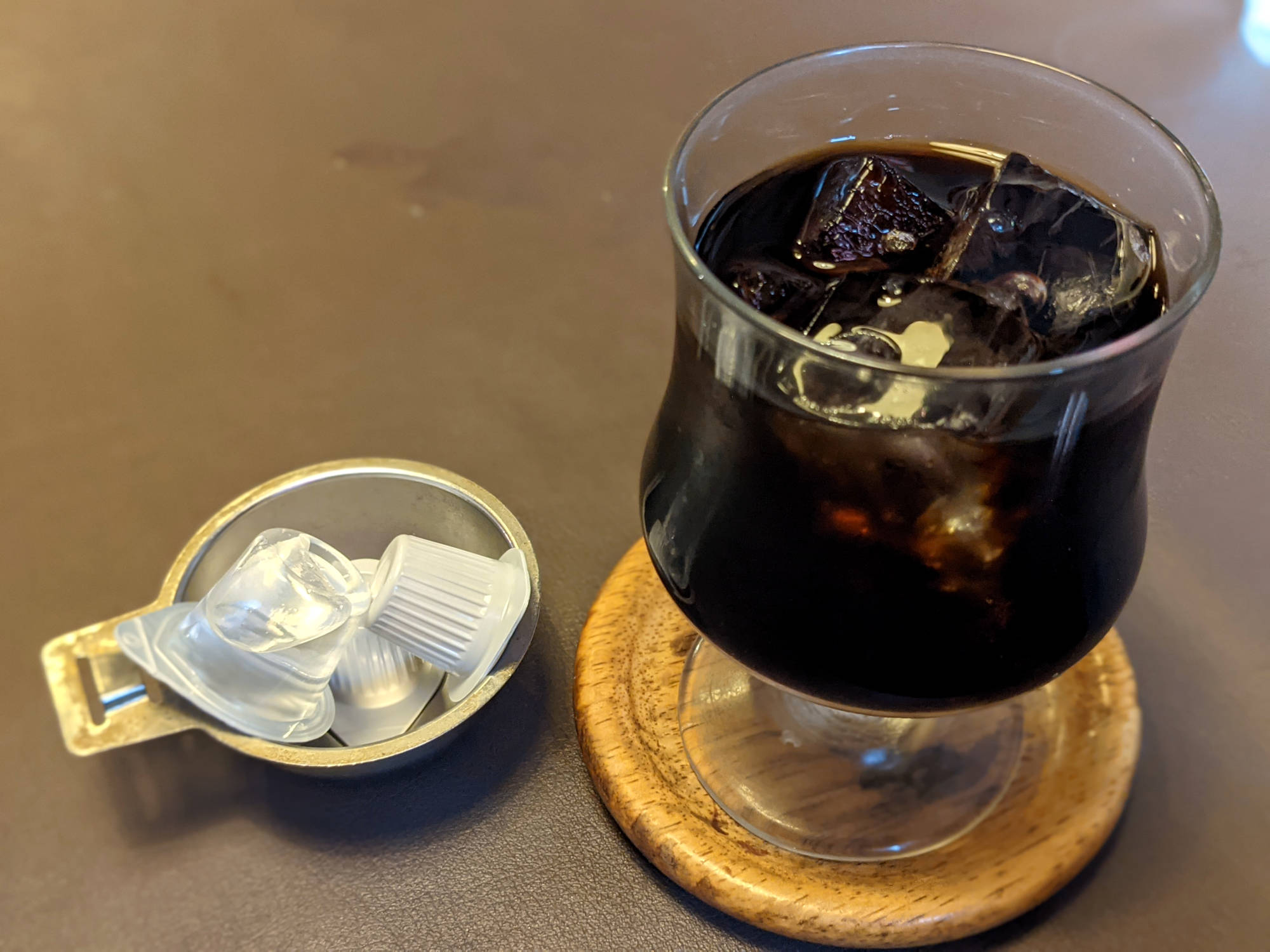 「M-2」のアイスコーヒー