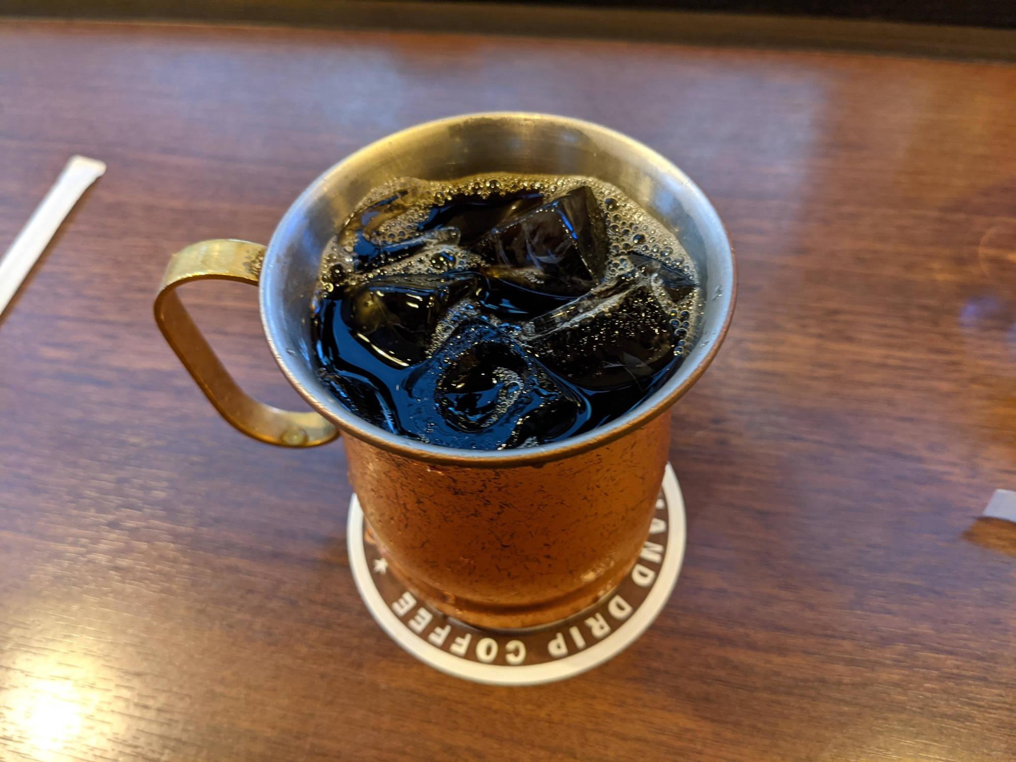 星乃珈琲店のアイスコーヒー