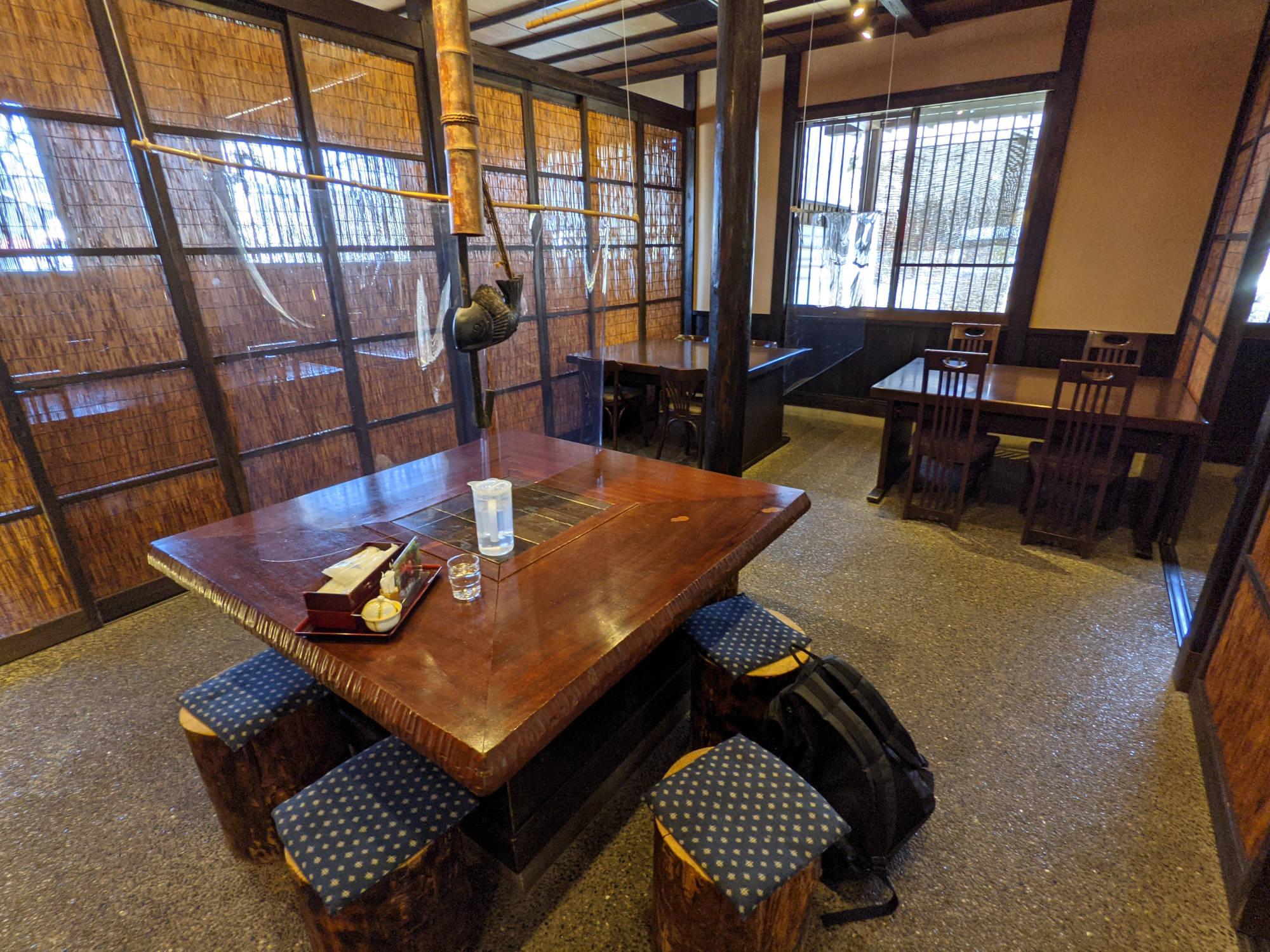 浅間茶屋の店内
