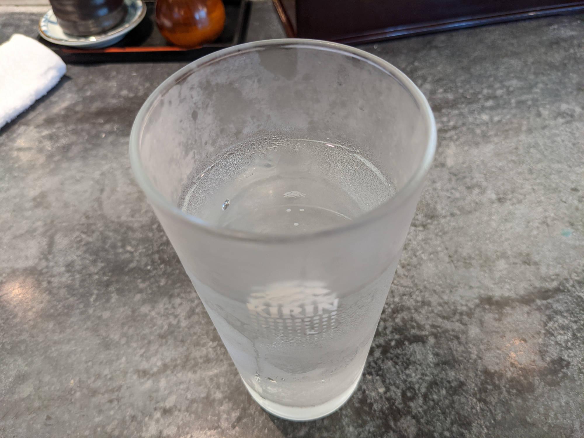 三是寿司の水
