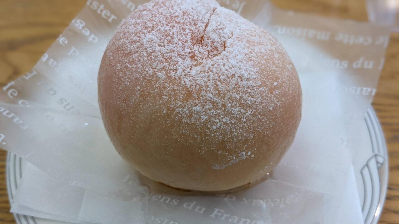 【鶴巻温泉】アンドリアンの「桃のケーキ」
