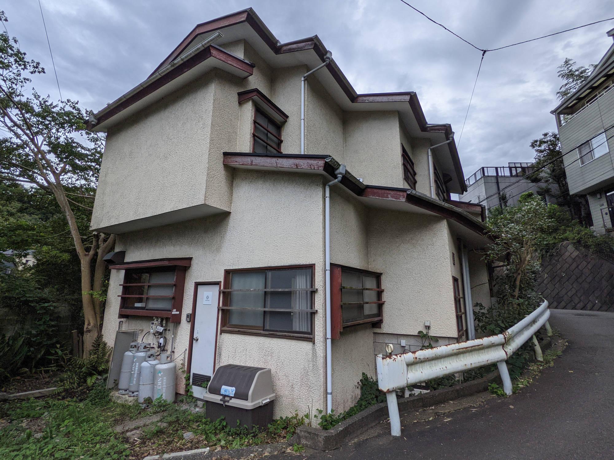 鎌倉C邸の外観