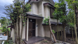 鎌倉C邸の玄関