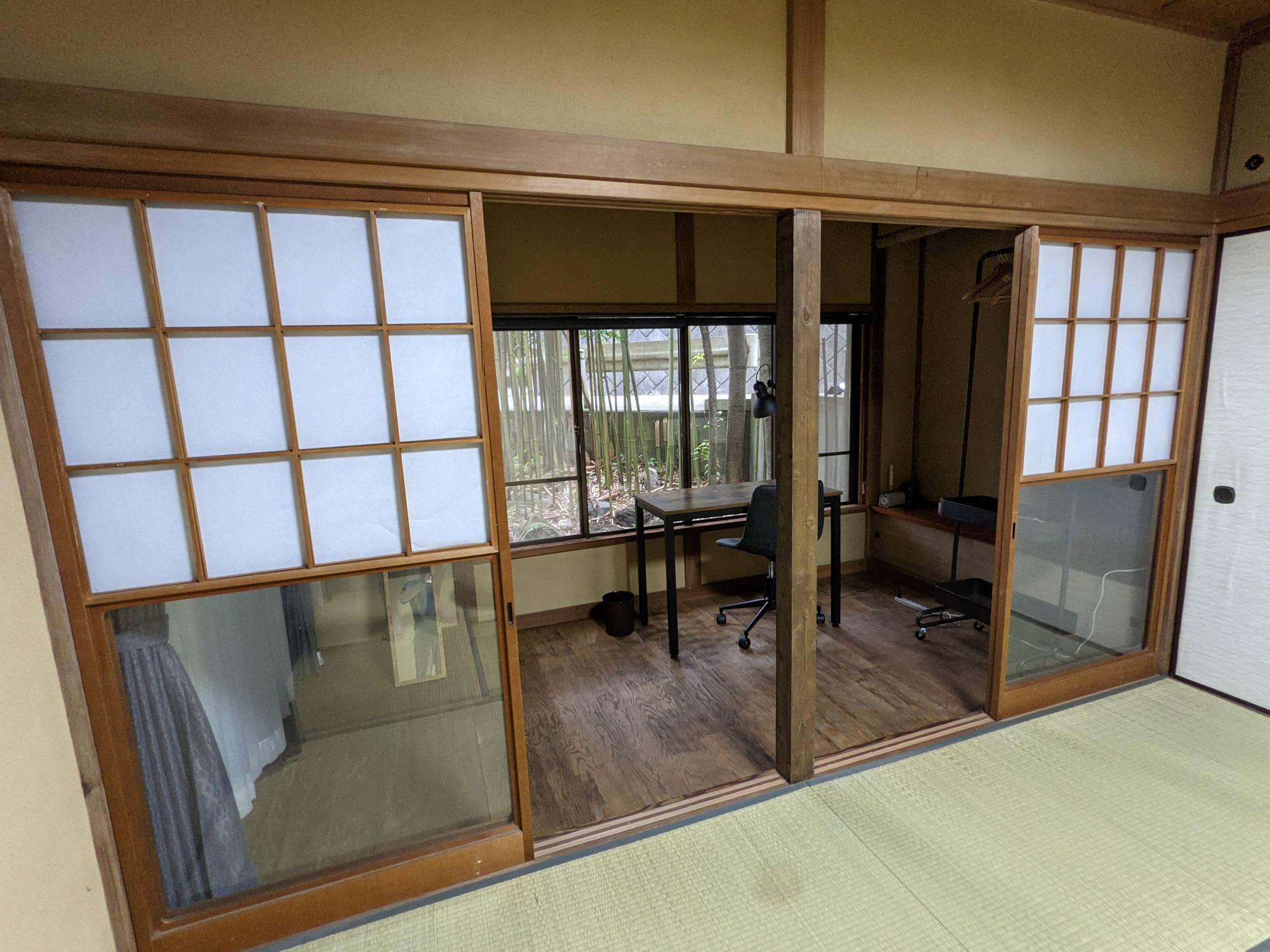 鎌倉C邸の101号室(和室)