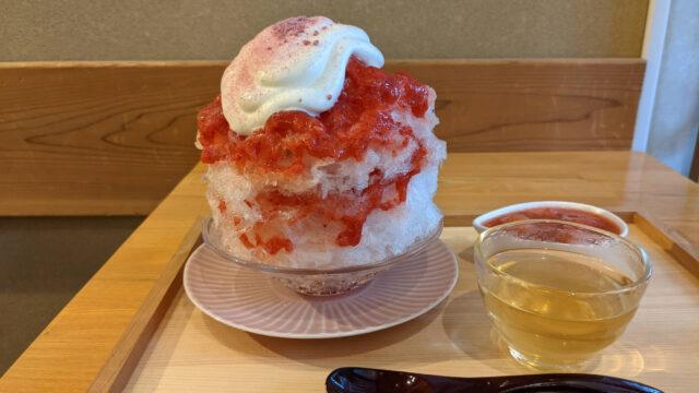 【鎌倉】こまち茶屋の「苺・柚子みかん」