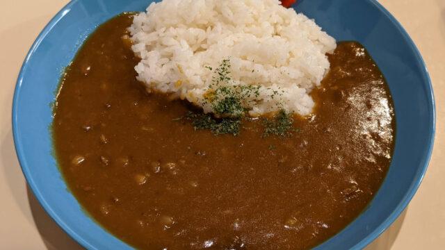 【鶴巻温泉サマーシティ】関西風スジ肉ドテ煮カレー