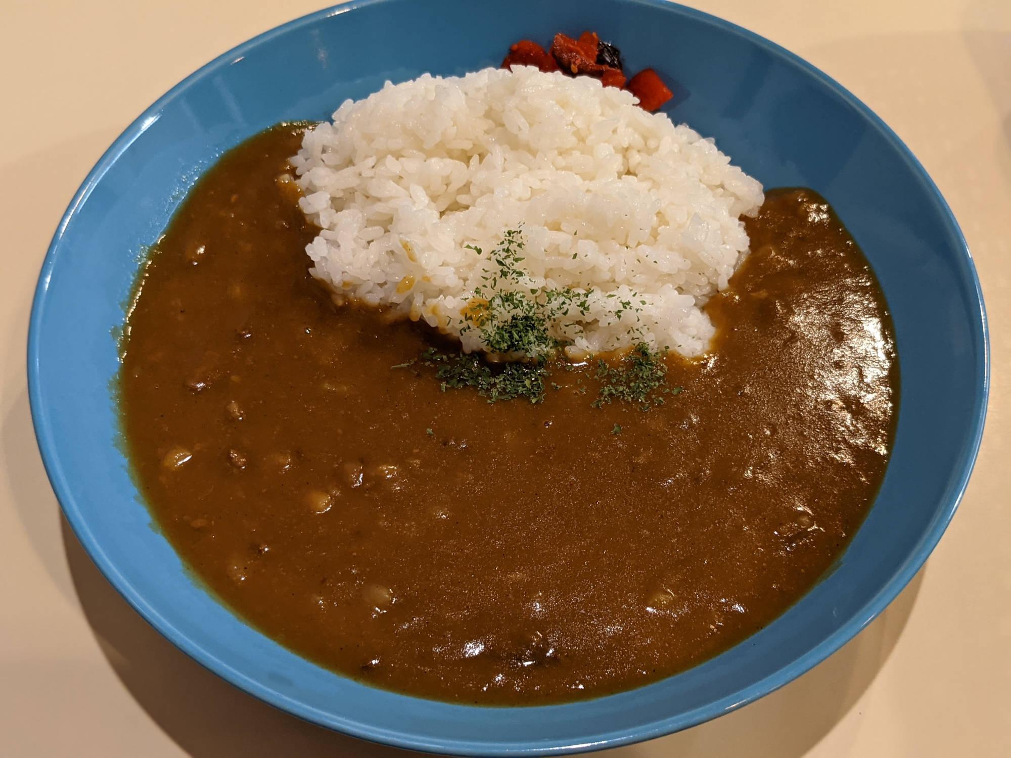 関西風スジ肉ドテ煮カレー