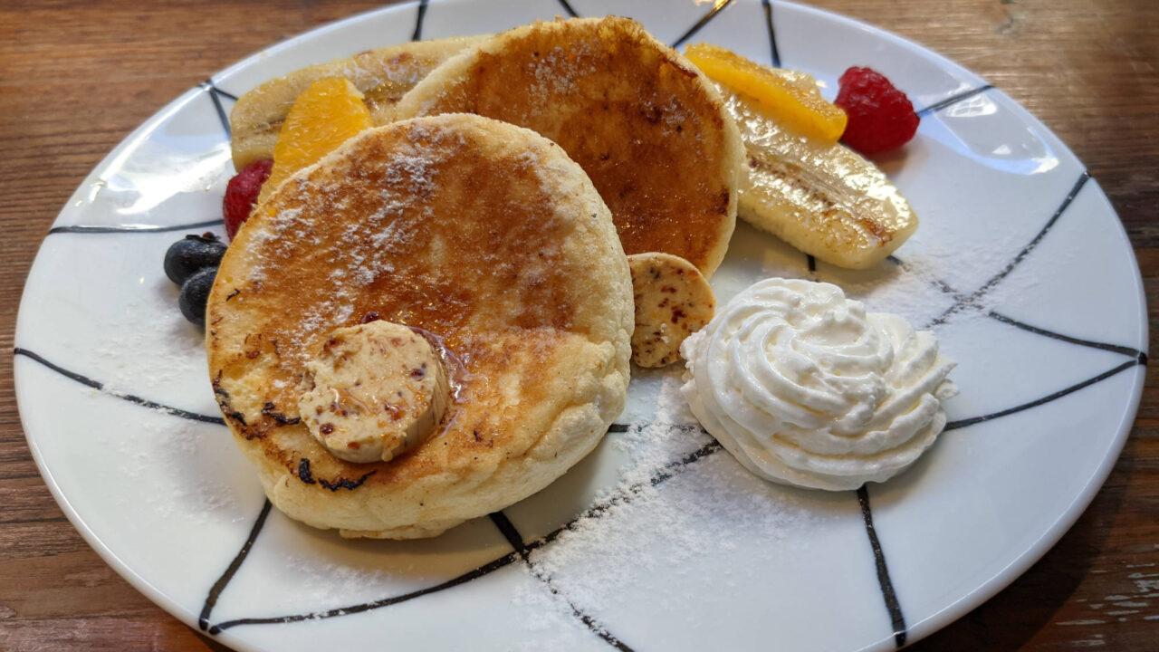 ロイヤルガーデンカフェ 渋谷店(Royal Garden Cafe)リコッタチーズのパンケーキ