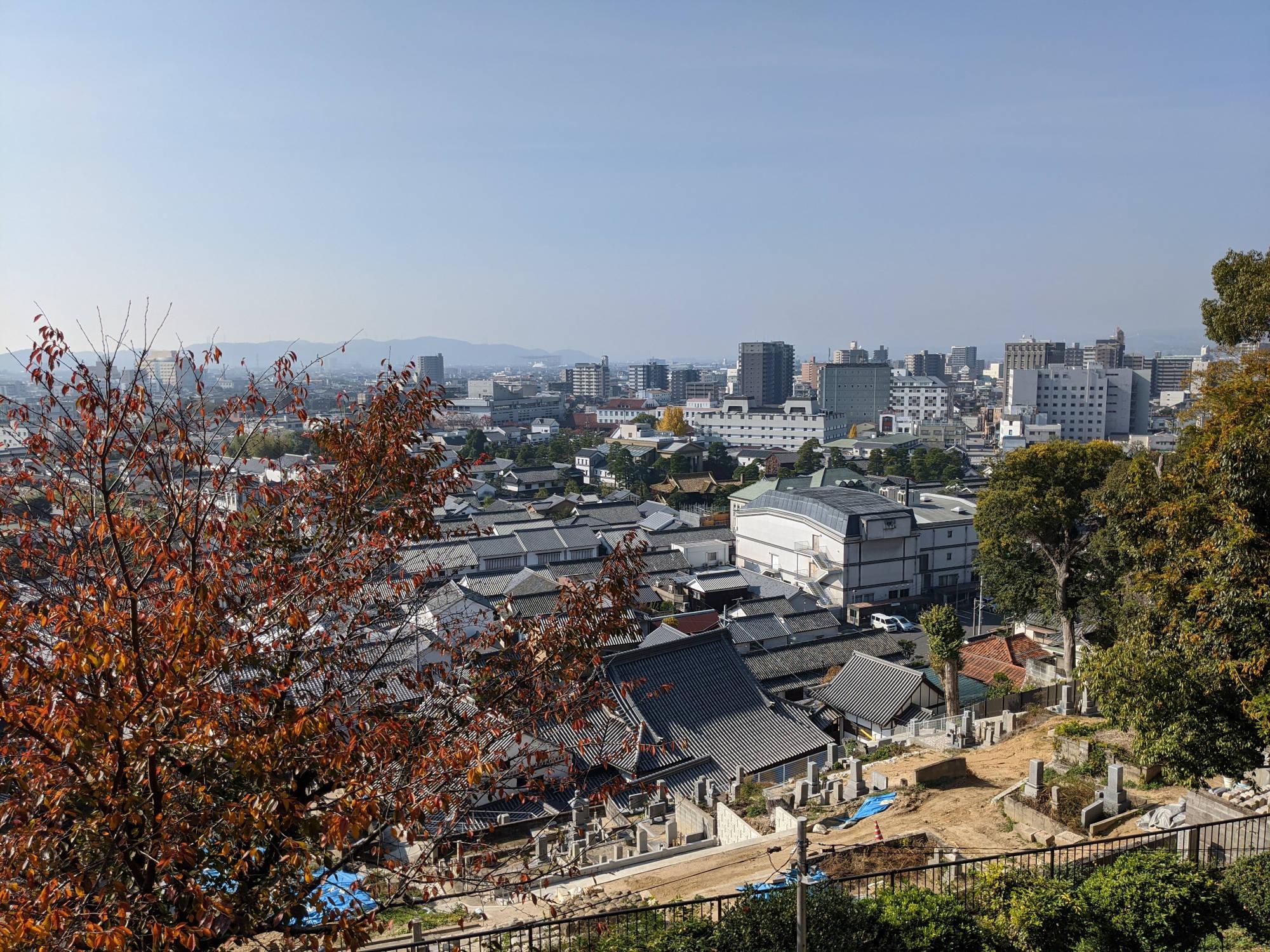 阿智神社からの眺め