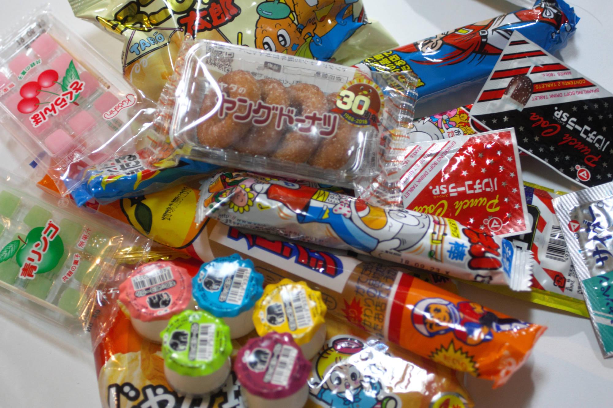 ロンゴロンゴで購入した駄菓子